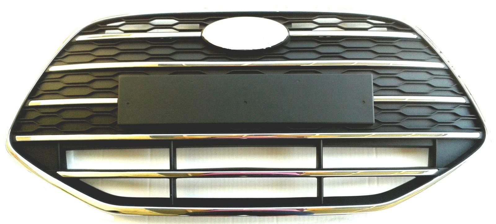 HYUNDAI i20 GB set risparmio Paraurti Barra di ingresso nero 10179-2075